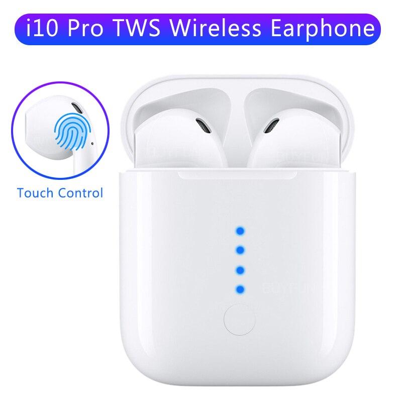 I10 TWS Pro Écouteur Sans Fil vrai 3D Stéréo Bluetooth 5.0 écouteurs casque in-ear Tactile casque pour iphone samsung huawei