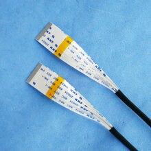 34PIN Nieuwe AWM 20624 80C 60 V VW 1 FFC FPC Flexibele Kabel 0.5mm 34 Pin 350 MM 250 MM Forward Tegenovergestelde Richting LCD LED Lint kabel