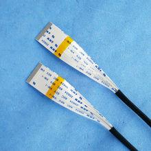 PIN Nuovo AWM 20624 80C 60 V VW FFC FPC Cavo Flessibile 0.5mm 34 Pin 350 MM 250 MM Forward Direzione Opposta LCD LED Ribbon cavo