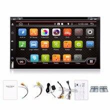 Quad Core Elektroniczny Samochodów 2din autoradio android 6.0 samochodowy odtwarzacz dvd stereo Nawigacja GPS WIFI + Bluetooth + Radio + 3G + TV (Opcja)