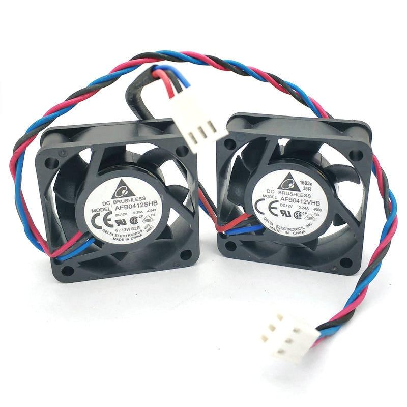 DELTA AFB0412SHB -C642 F00 AFB0412VHB -R00 Cooling Fan 40*40*15mm