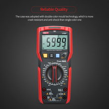 Digital Multimeter ESR Tester NCV 6000 Counts LCD True RMS AC/DC Voltage Current Capacitance Frequency Temperature Meter UT89X digital lcd multimeter 6000 counts mini multi meter voltmeter ohmmeter ac dc voltage current resistance capacitance meter tester