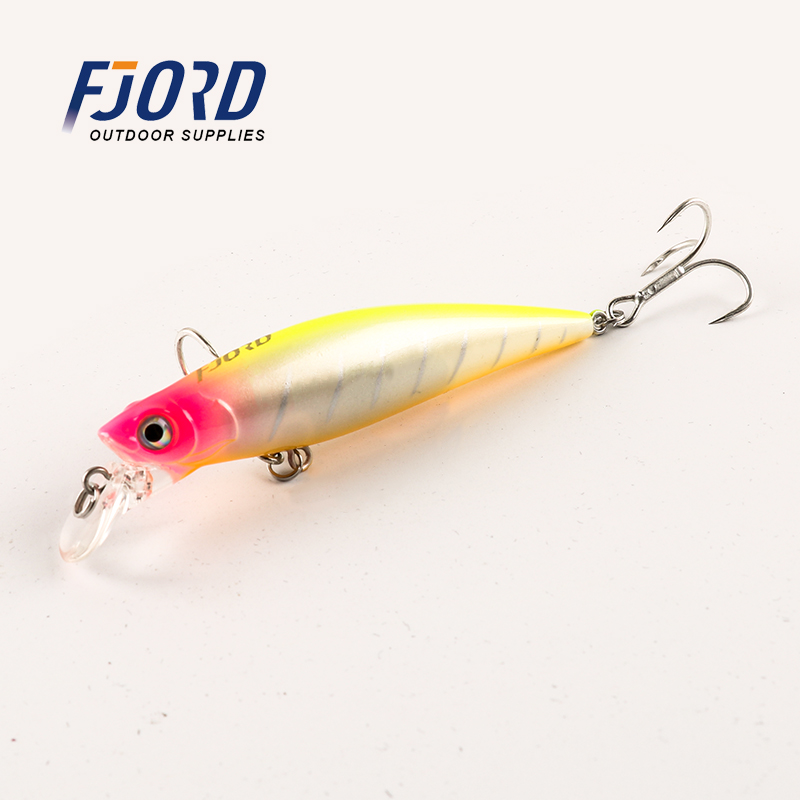 FJORD 90mm 31g Plastic Hard Minnow Laser Professional Fishing Lure Seawater Artificial Bait Pesca Isca Fishing Tackle
