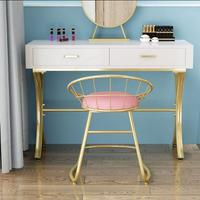 Nordic makeup stool dressing table back chair makeup chair modern contracted web celebrity stool bedroom home creative chair