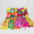 50pcs/lot Cheap Wholesale Colorful Cotton Lucky Bracelet For Women 30cm Friendship Cord Srands Handmade Bracelets Jewelry