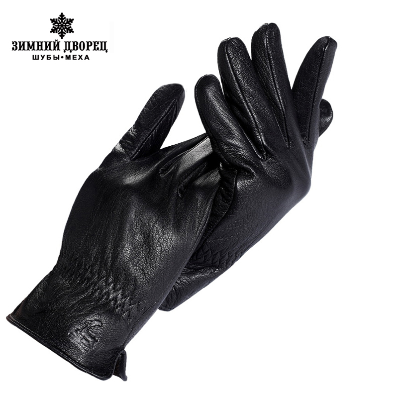 Free Shipping A Great Variety Of Goods genuine Leather,leather Men Gloves,mens Black Gloves,spandex,leather Gloves Men Handsome Mens Gloves