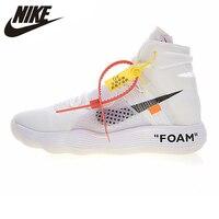 Nike HYPERDUNK 2017 FK OFF WHITE Men's Basketball Shoes, White, Shock absorbing Impact Resistant AJ4578 100
