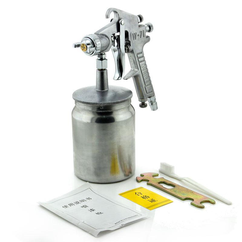 W-71S Pneumatic Paint Spray Gun High atomization automotive furniture paint spray gun Y