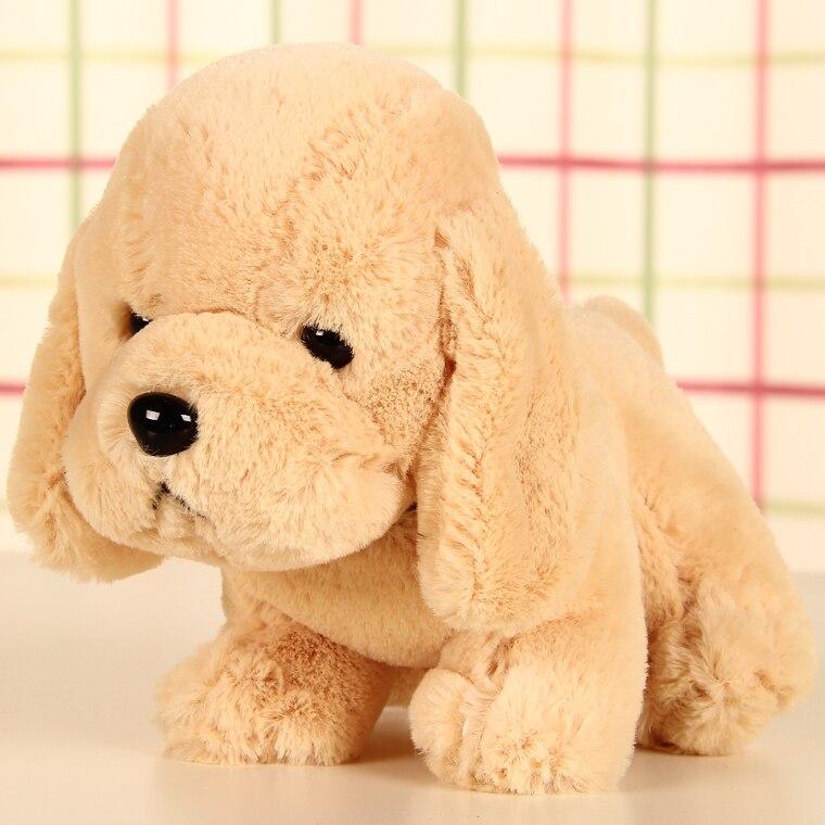 Free Shipping 17cm 6 7inch Simulation Puppy Cute Dog