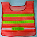 Good Sale Reflective Safety Vest 2 Strips Waistcoat for Construction Traffic Warehouse Orange