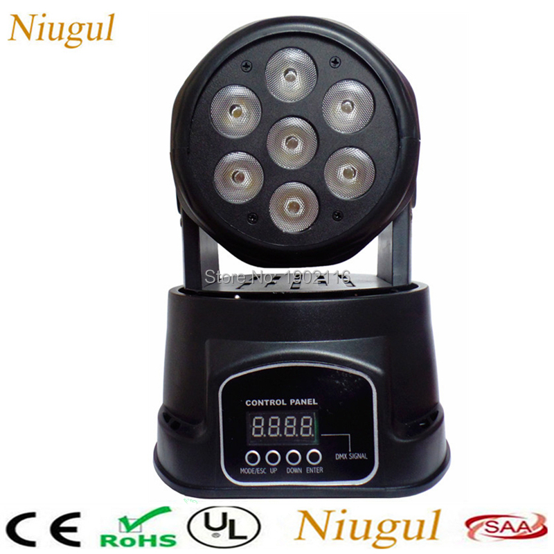 18PCS 7X12W LED Moving Head Light/ DMX512 LED Wash Effect Stage Lighting /Professional Stage LED Lights/ Bar Disco DJ Equipments white color 7x12w led moving head light dmx512 effect stage lighting rgbw 4in1 led wash beam lights ktv bar dj disco led lights