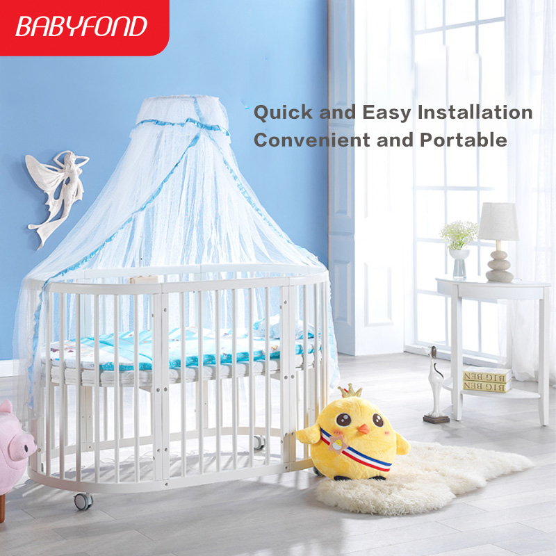 Brand Export Solid Wood Baby Bed Table Chair Solid Wood Baby Bed Newborn Baby Sleeping Bed Baby Chair And Table