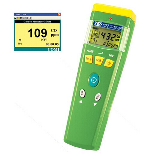 Portable Carbon Monoxide Tester Gas Analyzer CO Analyzer Meter (0 ~ 999 ppm,1ppm) TES-1372R new 3flute head 3mm end mills milling cutter use for aluminum cnc bits tools w4mo3cr4v1 hss