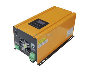 2000W 24VDC 220V/230VAC 50Hz Low Frequency Pure Sine Wave Home Power Inverter with battery charger UPS Inverter
