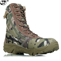 new men military boots camouflage and black tactical combat boots asker bot men kamuflaj bot army shoes men climbing shoes 633