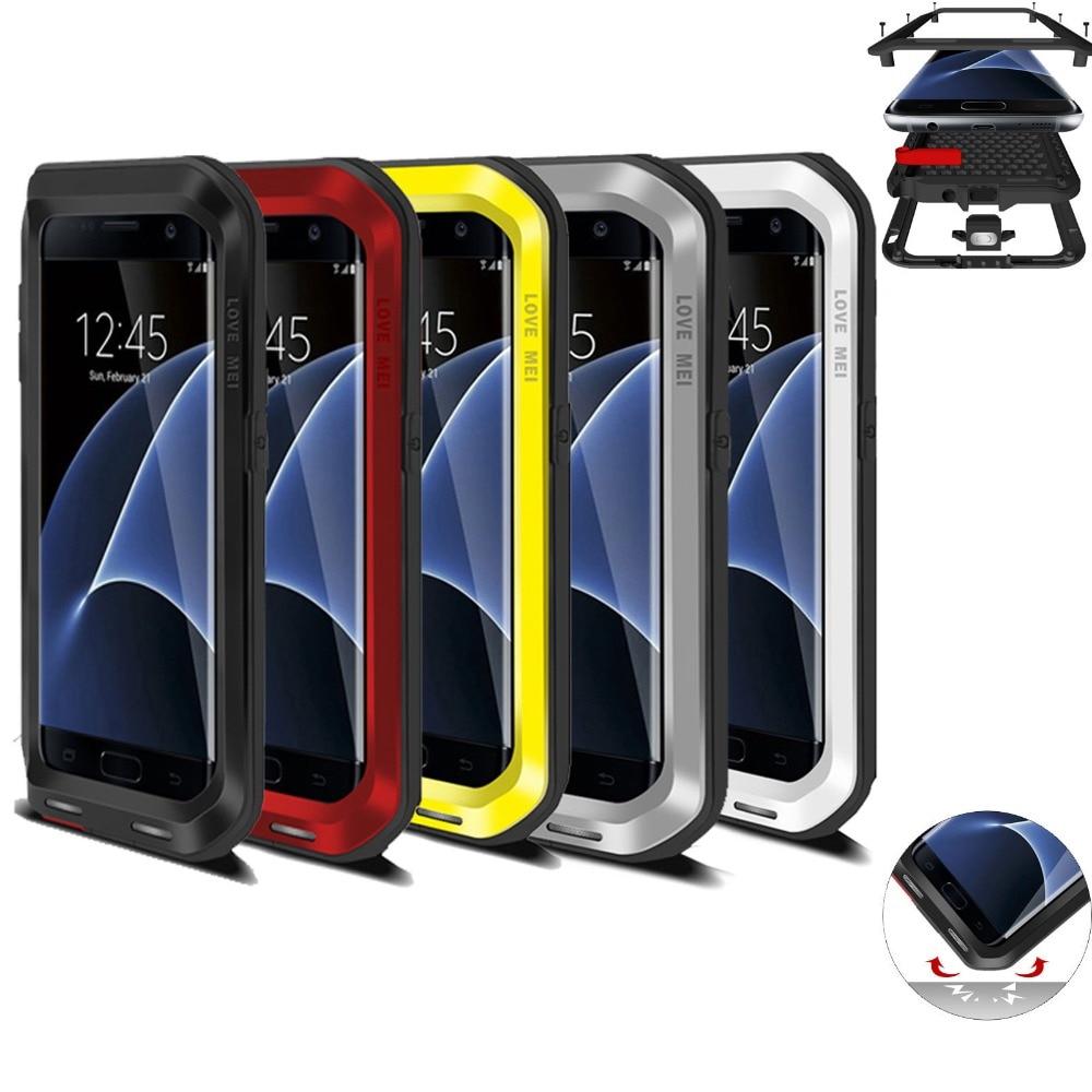 Цена за Любовь Мэй Для SamsungS7 Край Дело Шок Грязь Снег Доказательство Чехол для Galaxy S7 Края