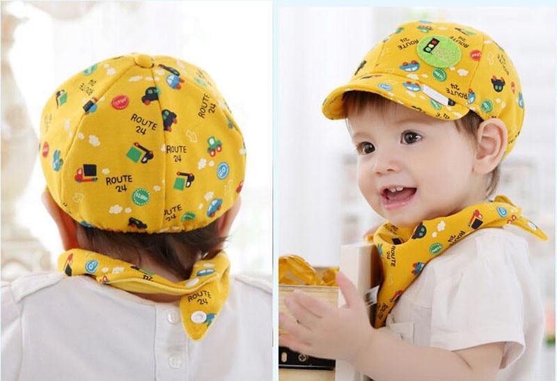 Muqgew для маленьких мальчиков девочка Snapback мультфильм печати для малышей Шапка маленький автомобиль Бейсбол берет Кепки Fotografia Z05