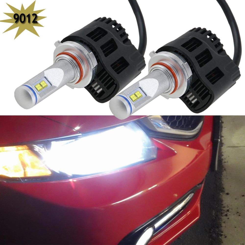 super bright 55w 5200lm powerful 9012 hir2 led headlight kits 4300k bulb car 9012 led headlamp. Black Bedroom Furniture Sets. Home Design Ideas