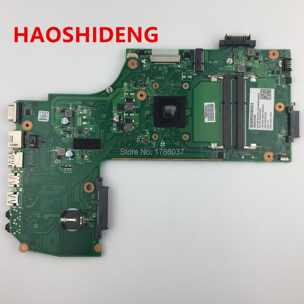 V000358250 For Toshiba Satellite C70 C75 C75D C75D-B C75D-B7260 Motherboard series motherboard with A6-6310 1.8Ghz CPU цена и фото