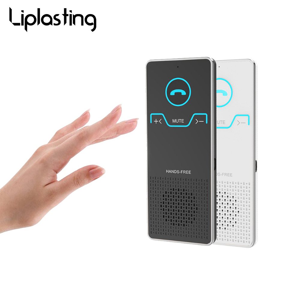 Liplasting Wireless Handsfree Bluetooth Car Kit Elegant Hands Free Calling Transmitter Car MP3 Players With Car Charger