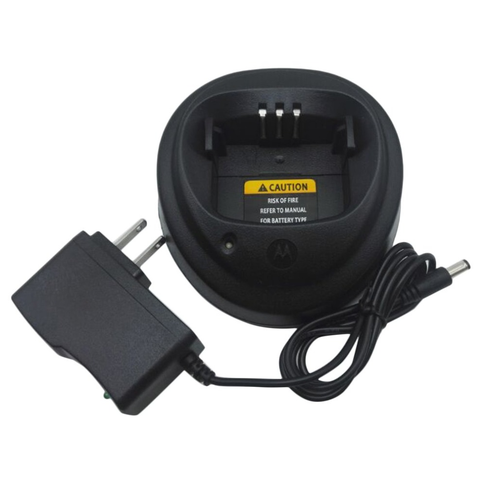 Quick Fast Drop-In Charger For 2-Way Radio Walkie-Talkie Charger For Motorola EP450 CP040 CP150 CP200 PR400 GP3138