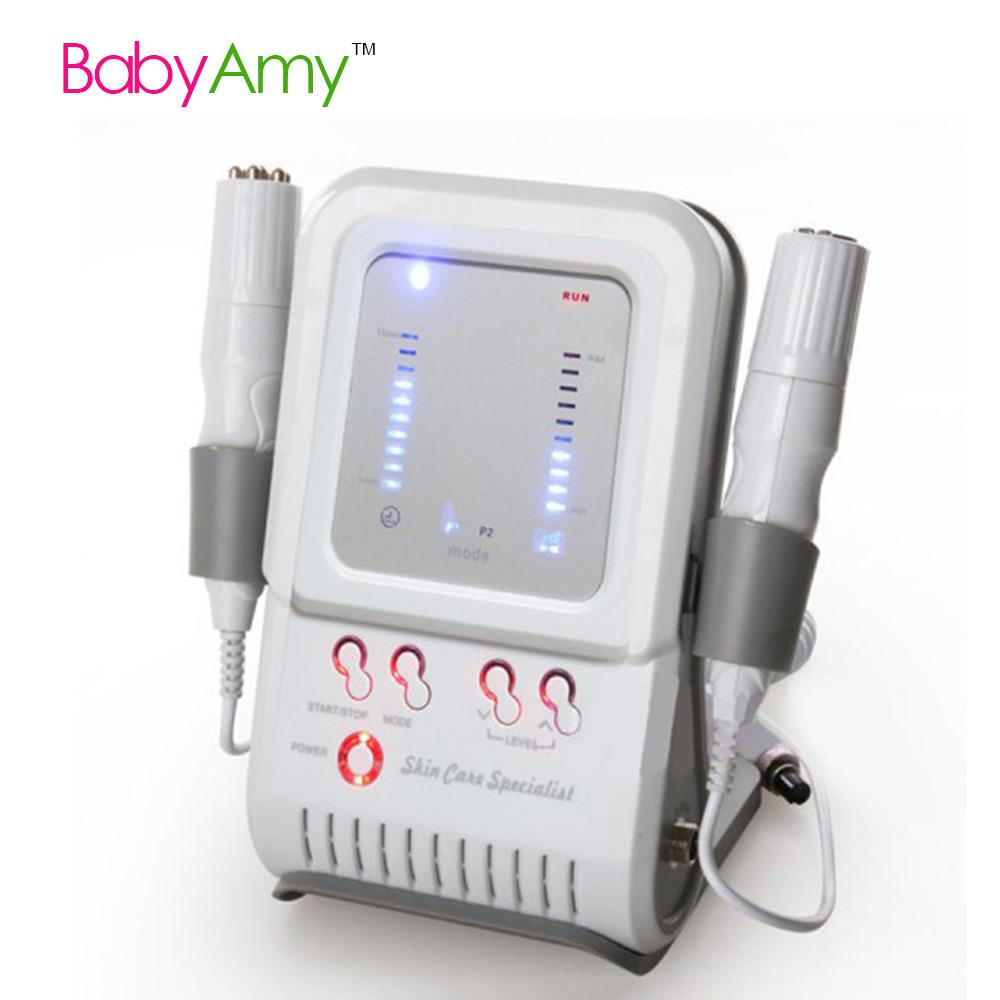 Uso doméstico portátil de dispositivos de estiramiento facial de belleza eliminación de arrugas rf máquina de cuidado de la piel equipo de mesoterapia cuidado de la piel especialista