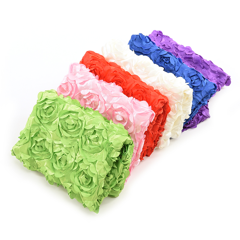 1 Pcs 41.7*26.7 Baby Photography Photo Props 3D Rose Flower Backdrop Beanbag Blanket Rug