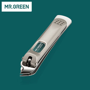 Image 5 - MR. สีเขียว 6 ใน 1 Nail Clipper ชุดเล็บ Pedicure Cutters กรรไกรแหนบมีด Professional เล็บชุดเครื่องมือ
