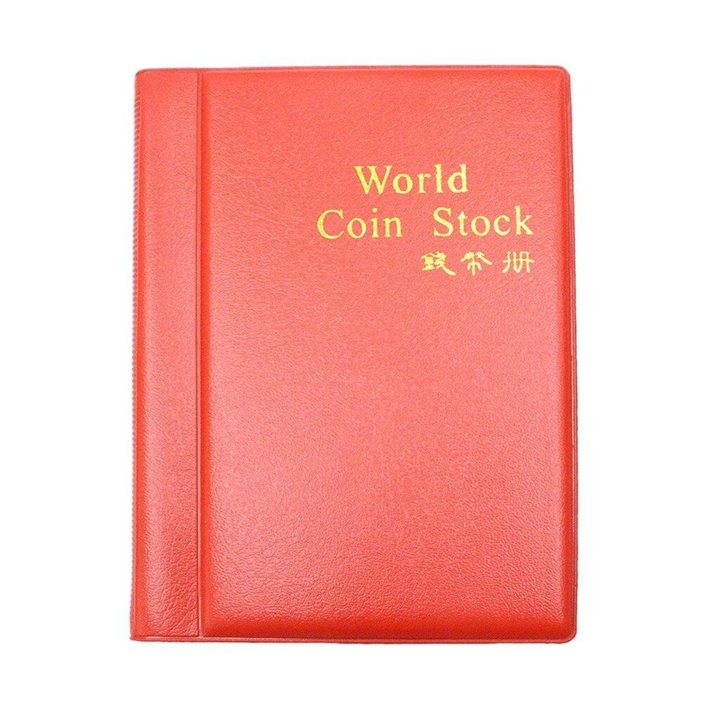 Permalink to Money Boxes World Coin Stock 120 Pockets World Coin Collection Storage Holder Money Album Book    19 Mar 14 Coin Book