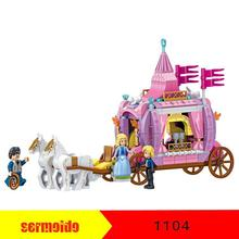 Princess Windsor Bourbon Royal Carriage QL1104 Building Blocks Toy For Children Compatible Friends Elves Gifts