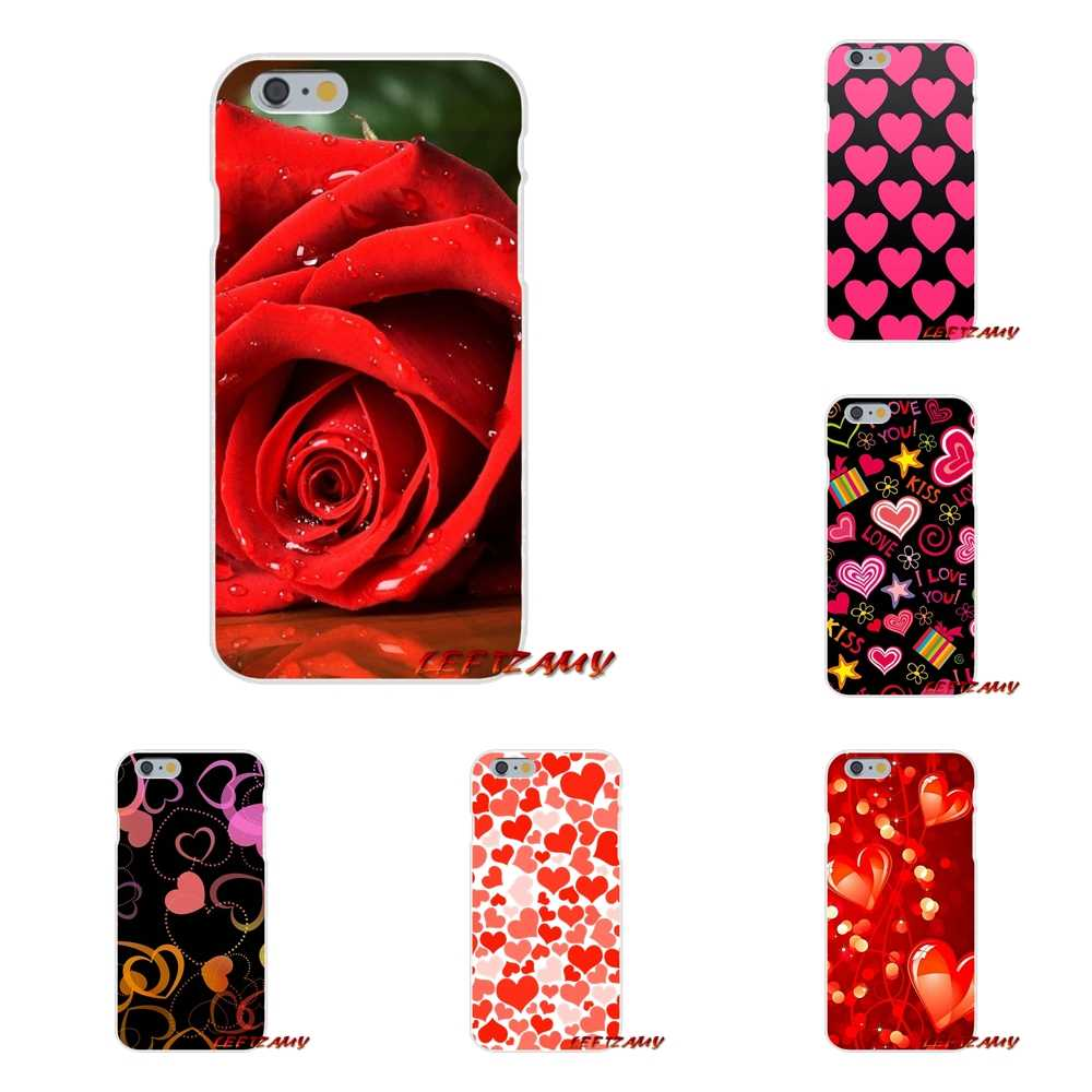 For Sony Xperia Z Z1 Z2 Z3 Z4 Z5 compact M2 M4 M5 E3 T3 XA Aqua Lovely Valentine's Day Accessories Phone Shell Covers