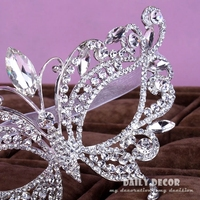 Fancy Rhinestone Mask for Women Party Masquerade Crystal Masks Christmas Party Mask Supplies Free shipping