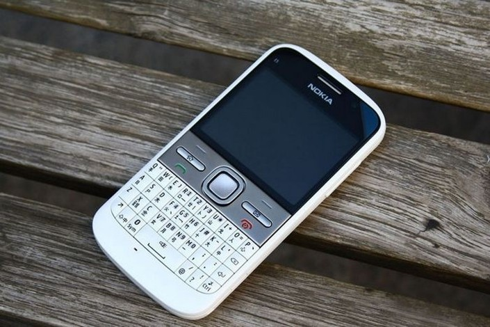 Refurbished phone Nokia E5 5MP Camera 3G network english languge cell phones silver 6