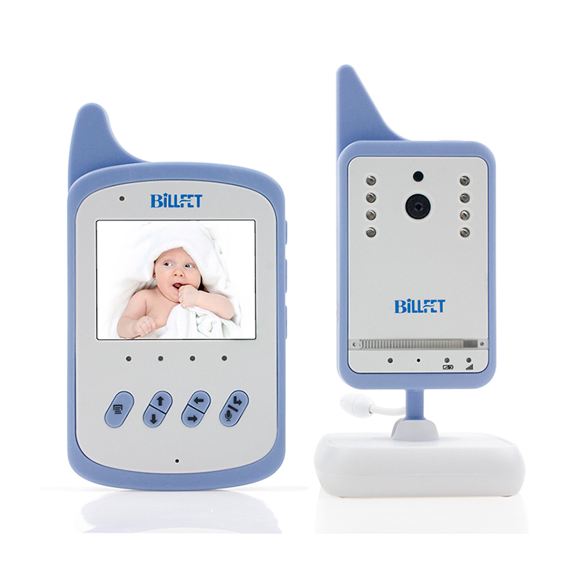 home audio video baby monitor kit wreless lcd color video nanny lullaby temperature sensor. Black Bedroom Furniture Sets. Home Design Ideas