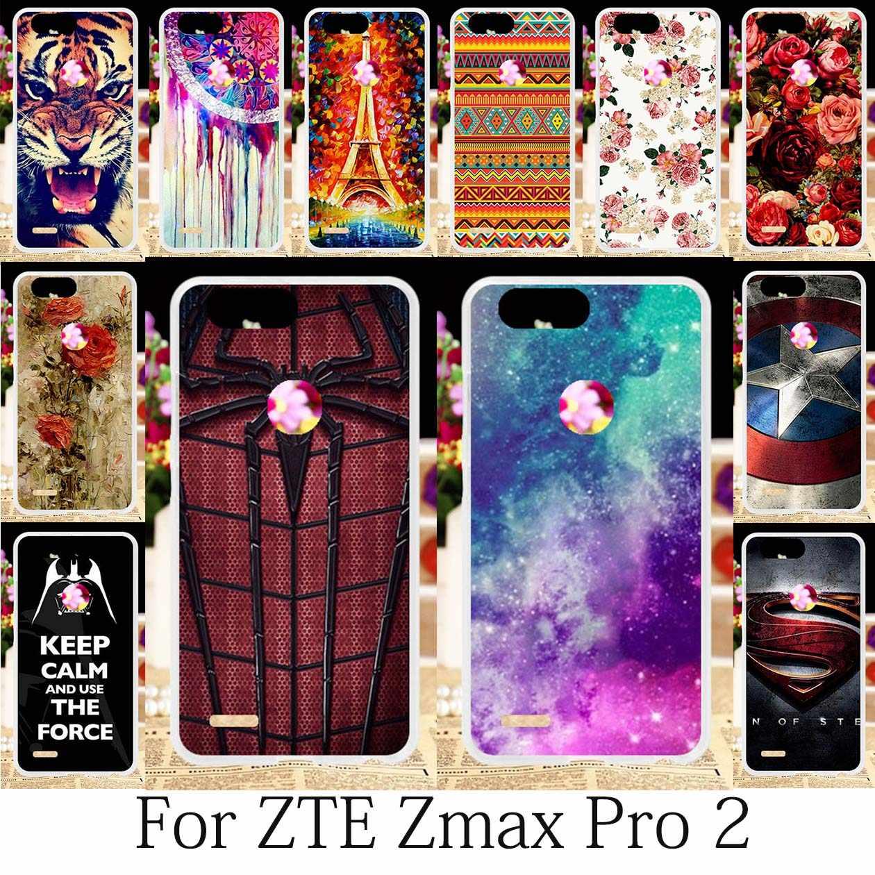 TAOYUNXI Cases For ZTE Sequoia ZTE Blade Z MAX Z982 Case ZTE Zmax Pro 2  Cover Covers Soft Girls Case Coque Anime Housing 6 0inch