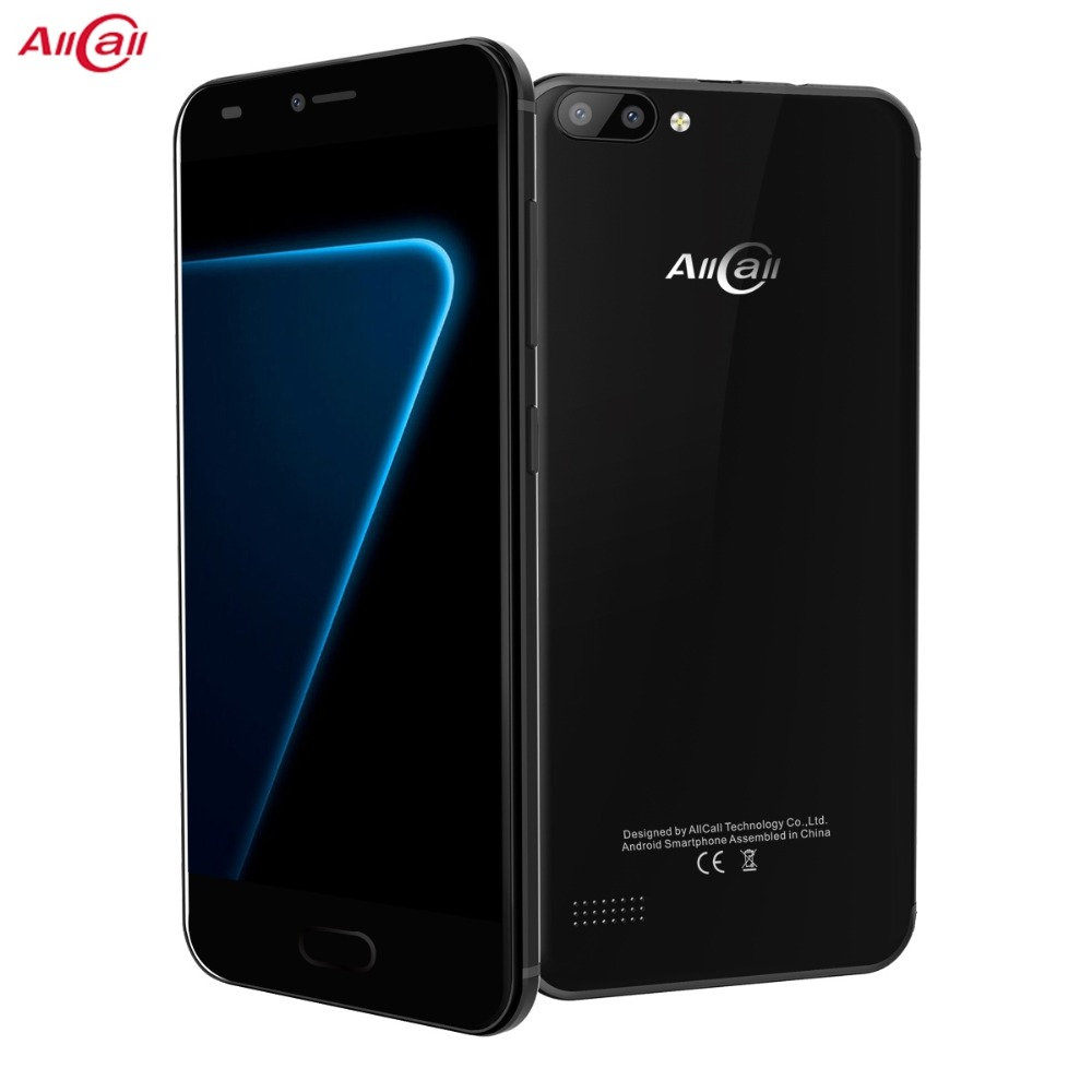 AllCall Alpha 5,0 ''MTK6580 1,3 ghz Quad Core Android 7.0 1 gb RAM 8 gb ROM 8MP + 2MP 2300 mah 3g samrtphone
