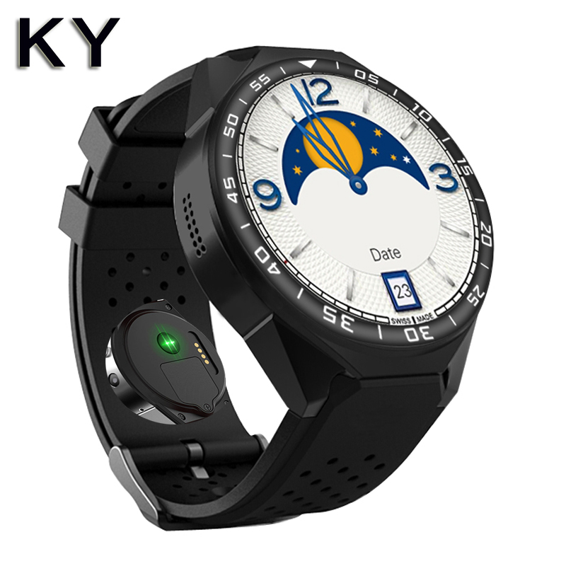 KY T9 smart watches android heart rate tracker phone smartwatch  men sim monitor compatibility all compatible smart wacht ios