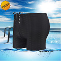 Professional swimwear trunks Bionic shark skin man boxer bermuda Sunga shorts Stretch quick-drying breathable board shorts