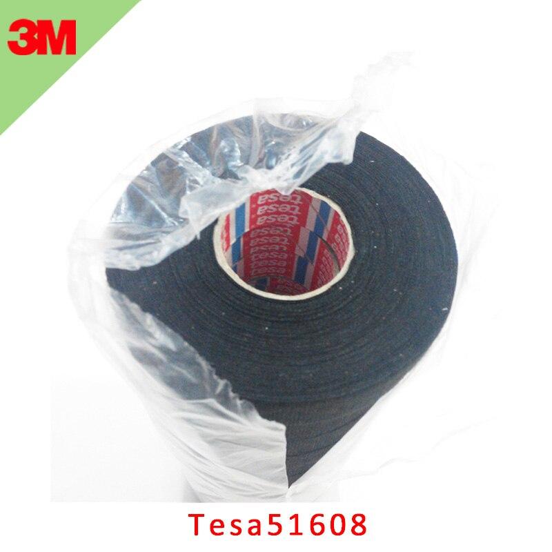 100pcs/lot Tesa51608 Car Cloth Tape Flannelette Public Wire Harness Engine Room Temperature Resistance Tape Tesa Adhesive Tape