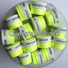 (Bright Green)60 pcs Abcyee High quality amboss patternTennis Overgrip sticky feel Tennis Rackets Grips Badminton Overgrip(China)