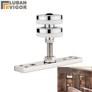 Folding Door Rotating Hang Wheel Pulley,for Active Wall Partition,silent Bearing,High Load-bearing, Durable,home Hardware