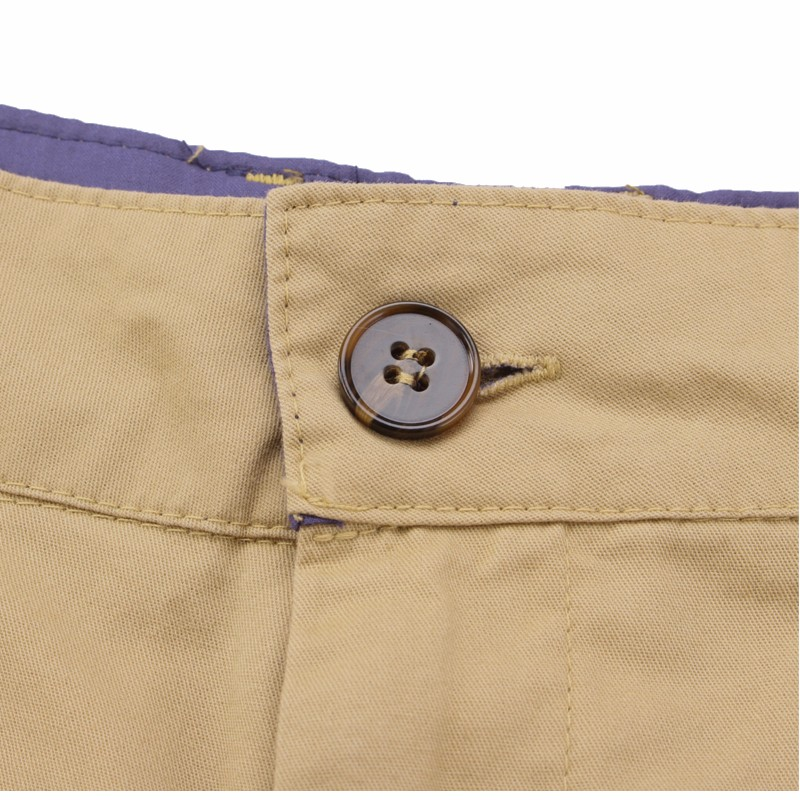 2019 Casual Summer Shorts Men Cotton Knee Length chinos shorts Vintage Casual Men Shorts Fashion masculina Big Large Size 44