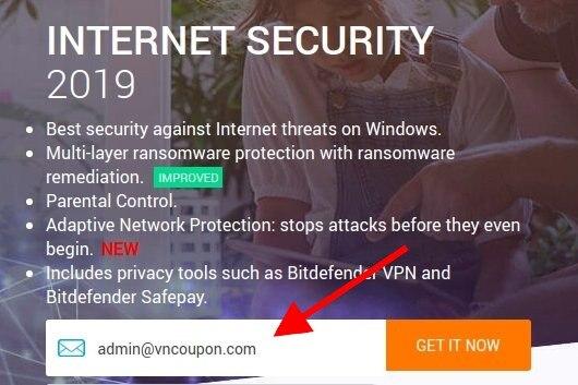 Bitdefender Internet Security 2019 – Get 6 Months 免费