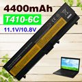 4400 mah batería para lenovo thinkpad edge e40 e50 l410 l412 l420 L421 L510 L512 L520 SL410 SL510 T410 T420 T510 T520 W510 W520