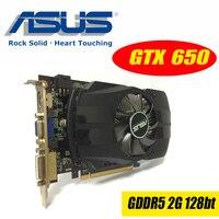 Asus GTX 650 FMLII 2GB GTX650 GTX 650 2G D5 DDR5 128 Bit PC Desktop Graphics