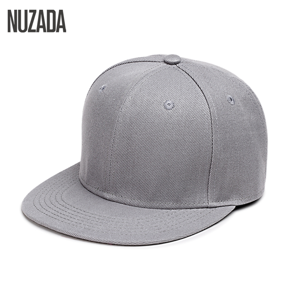 Brand NUZADA Hip Hop Hats Men Women Baseball Caps Snapback Solid Colors Cotton Bone European Style Classic Fashion Trend hot sell new autumn fashion men baseball caps snapbacks hip hop hats for women men bone letter casual casquette caps