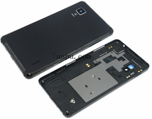 new replacement parts For LG Optimus G E973 E975 E971 back housing cover rear battery door with logo free shipping