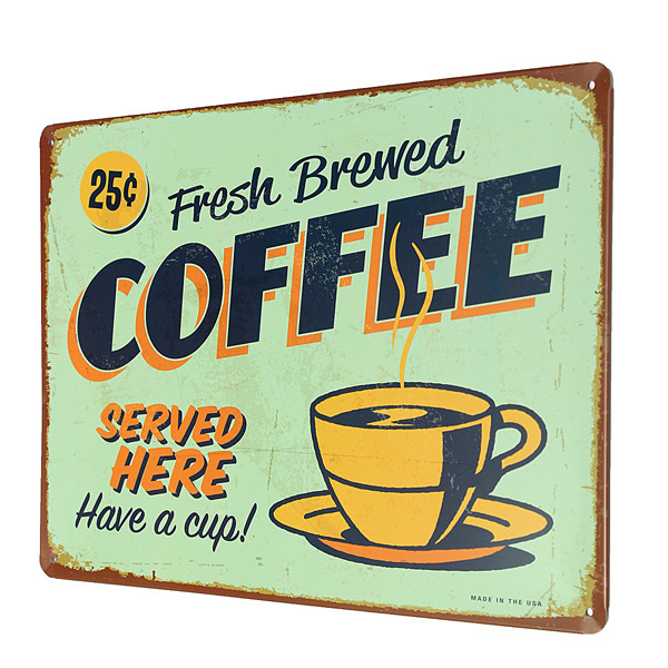 Coffee plaque reviews online shopping coffee plaque for Plaque w garage assurance