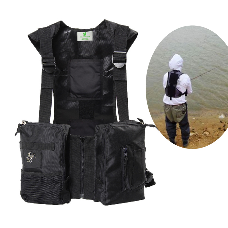 Spring and summer ice-hi fishing vest can be equipped Cooling ice pack insulation warm paste insulation vest