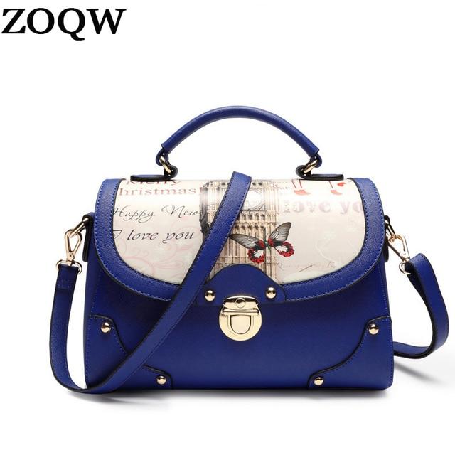 2017 New Fashion Women's Bags designer handbags high quality PU Leather ladies Shoulder Crossbody Bags Messenger Bag SW0217